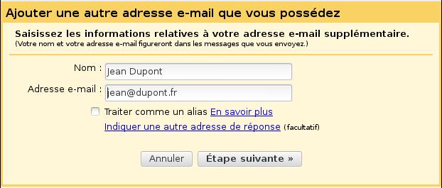Configuration de Gmail pour l'hébergeur Alwaysdata (1)