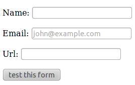 Formulaire Django avec des inputs HTML5
